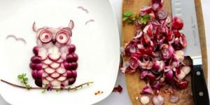 Obras de arte hechas con la comida
