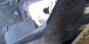 Despegue de un cohete de la NASA visto desde los propulsores (VIDEO)