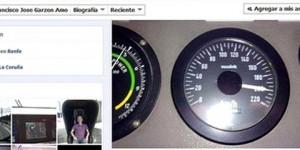 Piloto del tren descarrilado en España subió a Facebook foto a velocidad excesiva