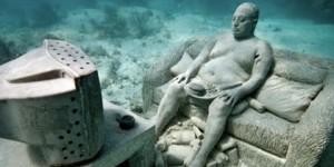 Increíbles esculturas acuáticas