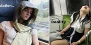 La expectativa versus la realidad