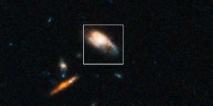 Un nuevo tipo de explosión en el Universo observado por el Hubble