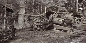 Trincheras alemanas en la Primera Guerra Mundial