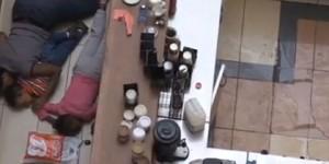 Vídeo de la evacuación masiva durante el tiroteo en el centro comercial de Kenia