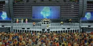 Fotos de un concierto de Legos