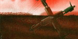 Ilustraciones que te dejarán en qué pensar, hechas por Pawel Kuczynski