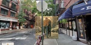Portadas de discos… pero vistas desde los ojos de Google Street View