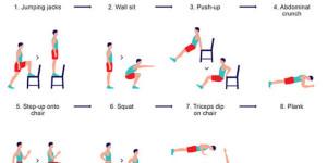 Ponerse en forma con 7 minutos de ejercicio al día