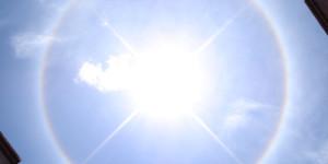 Halo de luz alrededor del sol: ¿Cómo y por qué se forma?