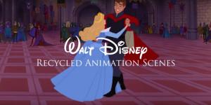 50 años de escenas recicladas de Disney en 2 minutos