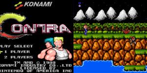 Recordando Contra de Konami para NES de Nintendo