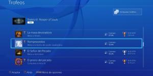 Solución a problema con trofeos bugeados en PS4